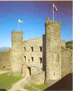 The Gatehouse at Harlech Castle